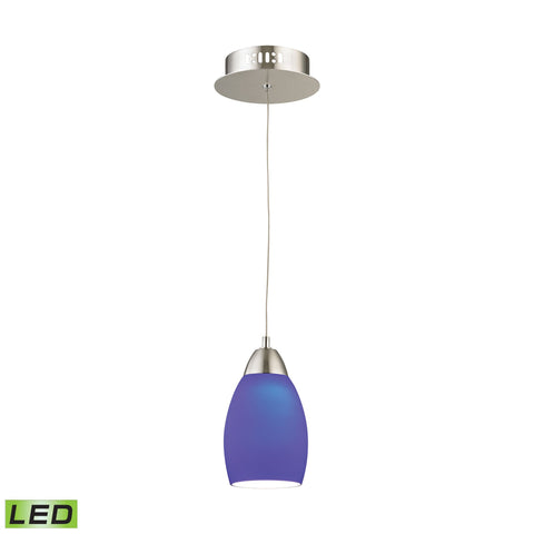 Alico LCA201-7-16M Buro Collection Satin Nickel Finish Pendant
