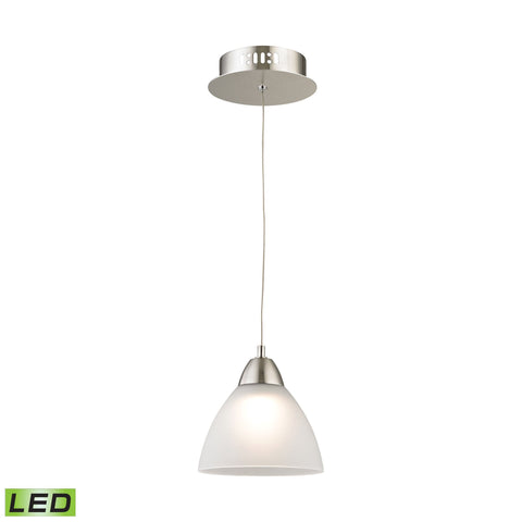 Alico LCA301-10-16M Piatto Collection Satin Nickel Finish Pendant