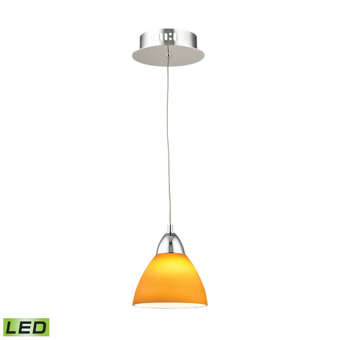 Alico LCA301-8-15 Piatto Collection Chrome Finish Pendant