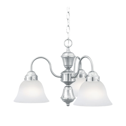 Thomas Lighting SL801178 Whitmore Collection Brushed Nickel Finish Traditional Chandelier