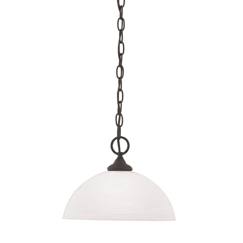 Thomas Lighting SL823463 Tahoe Collection Painted Bronze Finish Traditional Pendant