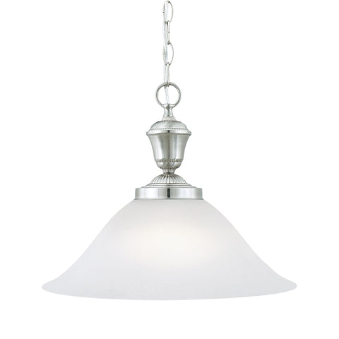 Thomas Lighting SL823578 Whitmore Collection Brushed Nickel Finish Traditional Pendant