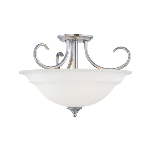 Thomas Lighting SL860778 Bella Collection Brushed Nickel Finish Traditional Pendant