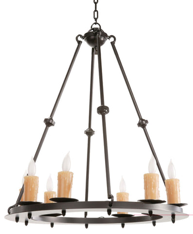 Nova Chandelier 8 Light - PeazzLighting