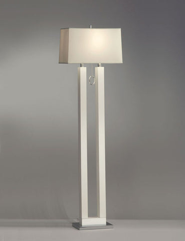 Nova Lighting 11640 Earring, Floor Lamp-White - PeazzLighting