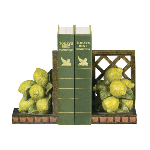 Sterling Industries 93-5623 Pair Lemon Orchard Bookends - PeazzLighting