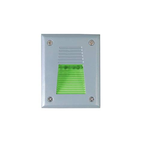 Jesco Lighting HG-ST08S-12V-G LED Recessed Wall Aisle and Step Lights - PeazzLighting