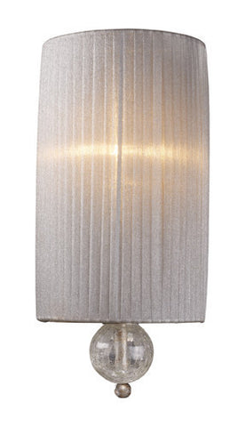 ELK Lighting 20005-1 Alexis One Light Sconce In Antique Silver - PeazzLighting