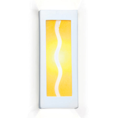 A19 G1B Amber Wave Wall Sconce - PeazzLighting