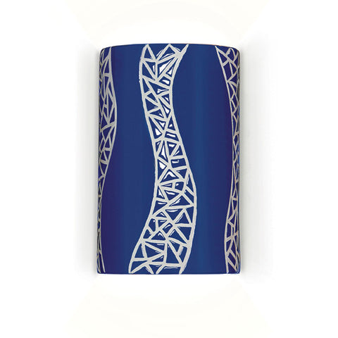 A19 M20304-CB Passage Wall Sconce Cobalt Blue - PeazzLighting