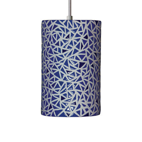 A19 M20307-CB Impact Wall Sconce Cobalt Blue - PeazzLighting