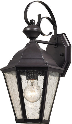 Cornerstone 8901EW/75 Cotswold 1 Light Exterior Wall Lamp In Oil Rubbed Bronze - PeazzLighting