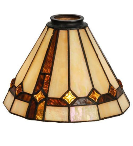 "Meyda Tiffany 138904 8""W Belvidere Shade - PeazzLighting"