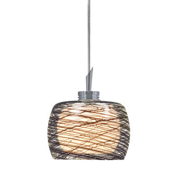 Jesco Lighting QAP115-BK/SN QAP115-ALLY Quick Adapt-Low Voltage Pendant - PeazzLighting