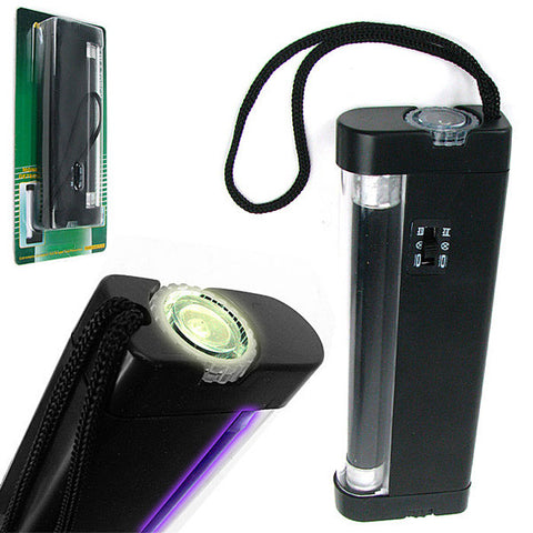 2 in 1 UV Torch Light and UV Counterfeit Money Detector - PeazzLighting