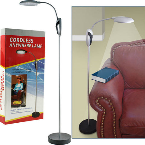 Super Bright Portable Lamp Stand with LED Lights - Cordless - PeazzLighting