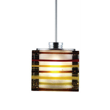 Jesco Lighting QAP701-AM/SN Quick adapt low voltage pendants-Qubert-Phuzed / Boiled Cube - PeazzLighting