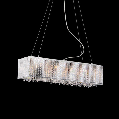 Bromi Design BCP1113-8 Crystalline Modern 8 Lights Crystals Chandelier - PeazzLighting