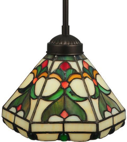 "Meyda Tiffany 134225 8""W Middleton Mini Pendant - PeazzLighting"