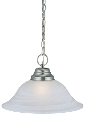 Design House 511626 511626 Millbridge 1 Light Sn Pendant Satin Nickel - PeazzLighting