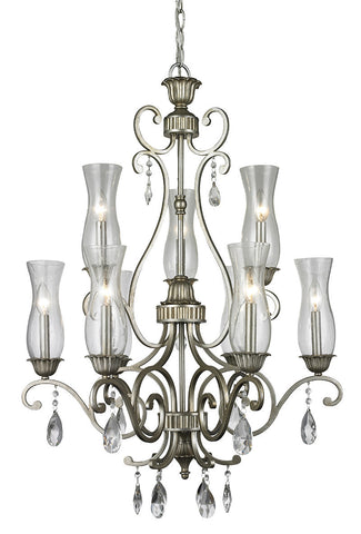 Z-Lite 720-9-AS 9 Light Chandelier - ZLiteStore