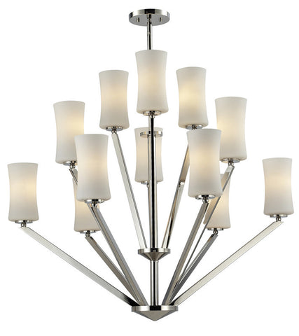 Z-Lite 608-12-ch Elite Collection 12 Light Chandelier - ZLiteStore