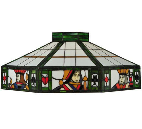 "Meyda Tiffany 81446 24""W Poker Face Shade - PeazzLighting"