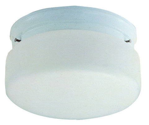 Design House 507327 507327 2 Light White With Opal Glass Ceiling White - PeazzLighting