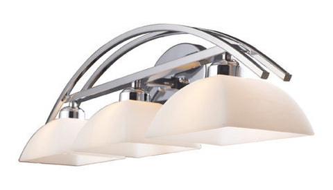ELK Lighting 10040-1 Arches One Light Vanity In Polished Chrome - PeazzLighting
