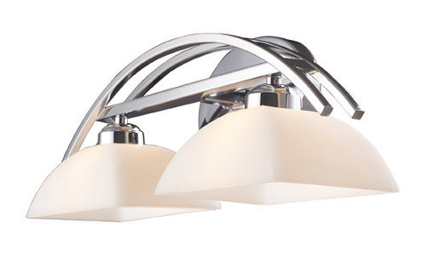 ELK Lighting 10031-2 Arches Two Light Vanity In Polished Chrome - PeazzLighting