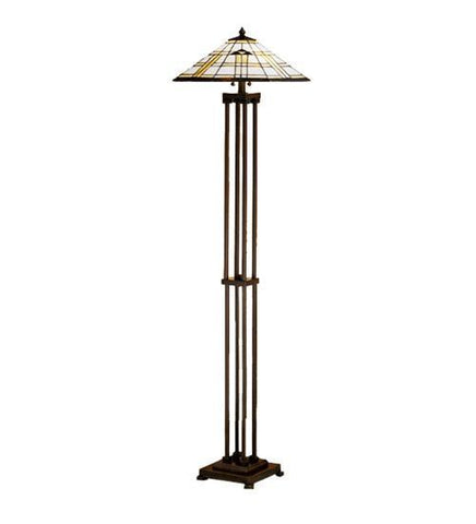 Meyda Tiffany 31240 Arrowhead Mission Floor Lamp  - PeazzLighting