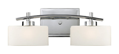 ELK Lighting 17081-2 Eastbrook Two Light Vanity In Polished Chrome - PeazzLighting