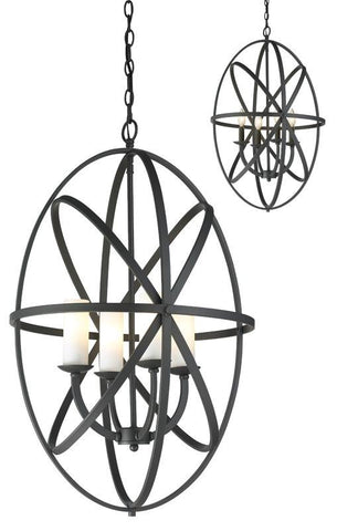 Z-Lite 6027-4L-BRZ 4 Light Pendant - ZLiteStore