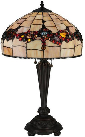 "Meyda Tiffany 130698 26.5""H Concord Table Lamp - PeazzLighting"