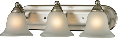 Cornerstone 5503BB/20 Shelburne 3 Light Bathbar In Brushed Nickel - PeazzLighting