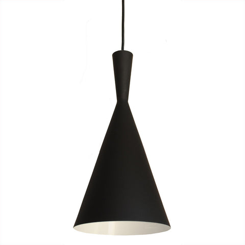 Bromi Design B6003 Berkley Black Single Light Pendant B6003 - PeazzLighting