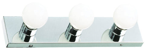 "Design House 500850 500850 3 Light Pol Chrome 18"" Bath Light Polished Chrome - PeazzLighting"
