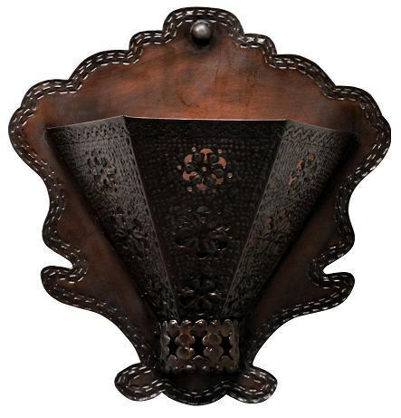 Jezebel Radiance Tribal Collection Flower Sconce Style B - PeazzLighting