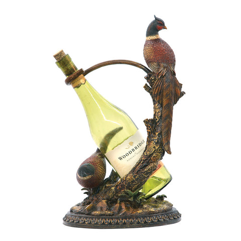 Sterling Industries 91-4370 Autumn Pheasant Wine Holder - PeazzLighting