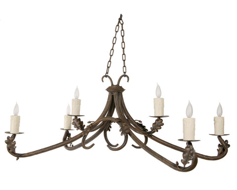 Oakdale Chandelier 6-Arm - PeazzLighting