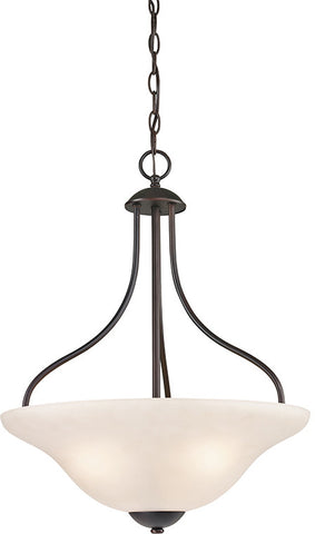 Cornerstone 1253PL/10 Conway 3 Light Large Pendant In Oil Rubbed Bronze - PeazzLighting