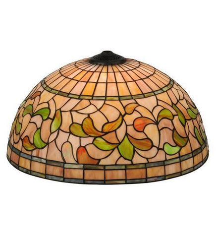 "Meyda Tiffany 10977 20""W Turning Leaf Shade - PeazzLighting"