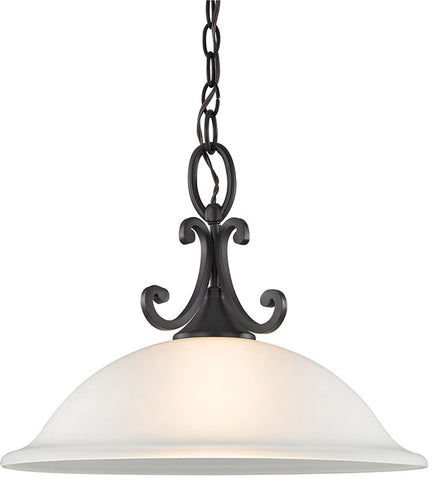 Cornerstone 2301PL/10 Hamilton 1 Light Pendant In Oil Rubbed Bronze - PeazzLighting