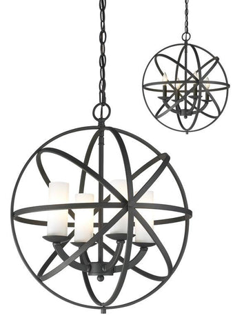Z-Lite 6017-4S-BRZ 4 Light Pendant - ZLiteStore