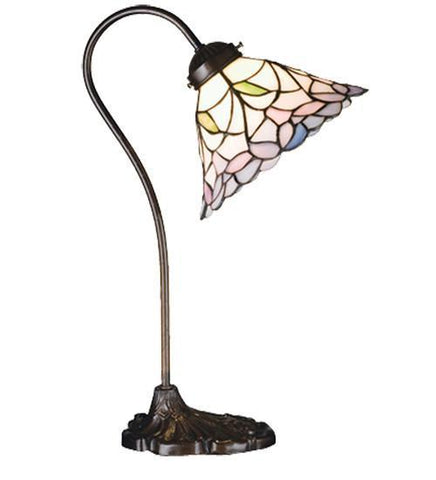 Meyda Tiffany 26590 Daffodil Bell Desk Lamp - PeazzLighting