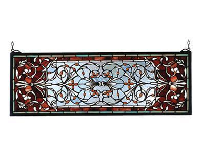 Meyda Tiffany 98059 Versaille Transom Stained Glass Window - PeazzLighting