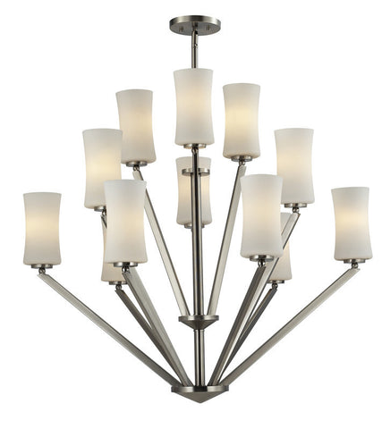 Z-Lite 609-12-bn Elite Collection 12 Light Chandelier - ZLiteStore