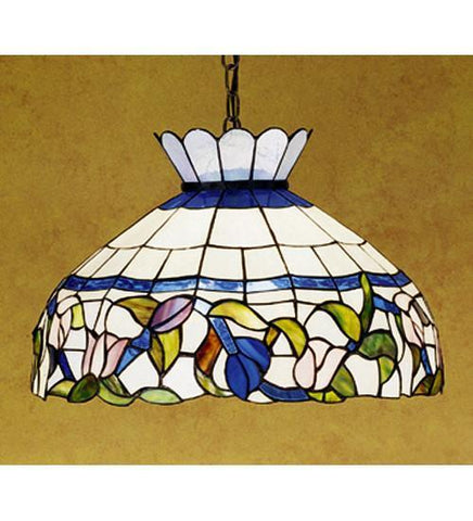 "Meyda Tiffany 31255 20""W Rose Vine Pendant - PeazzLighting"