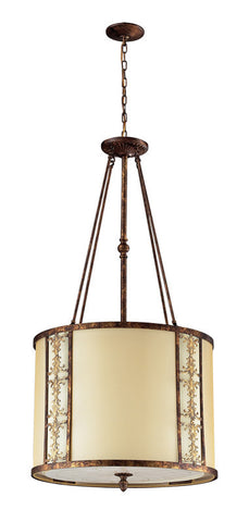 ELK Lighting Frederick 8- Light Pendant In Spanish Bronze - 11343/8 - PeazzLighting