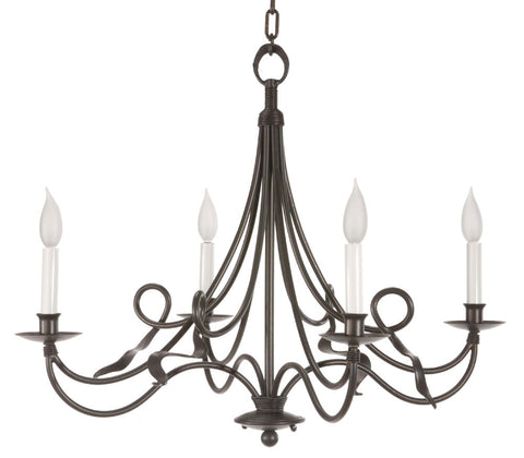 Savannah Chandelier 4-Arm - PeazzLighting